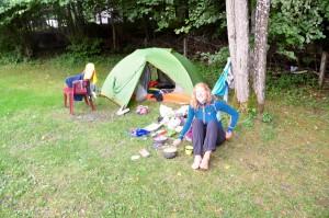 Nuit au camping !